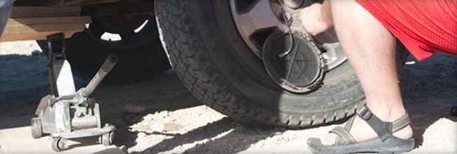 Even Changing a Tire Can Go Terribly Wrong