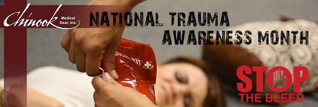 National Trauma Awareness Month. Don't Be a Bystander – Be a 'By-doer'