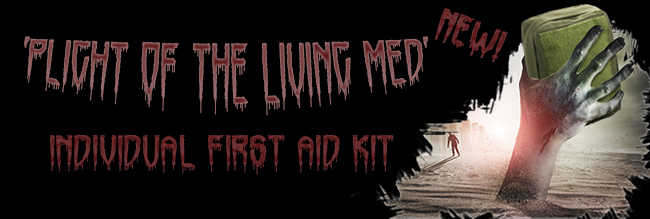 New! 'Plight of the Living Med' Individual First Aid Kit
