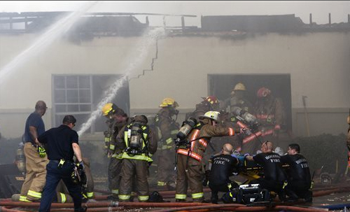 Houston Fire May 31, 2013
