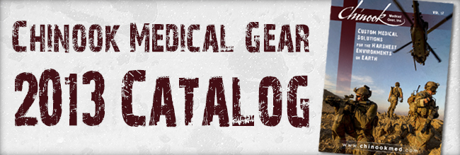 Chinook Medical Gear 2013 Catalog