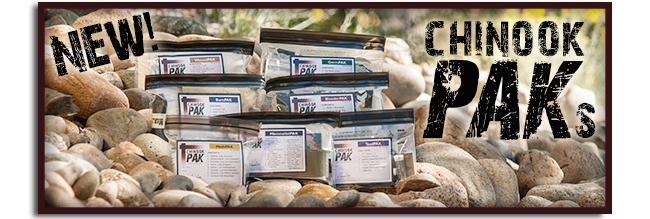 Chinook PAKs (Personal Aid Kits)